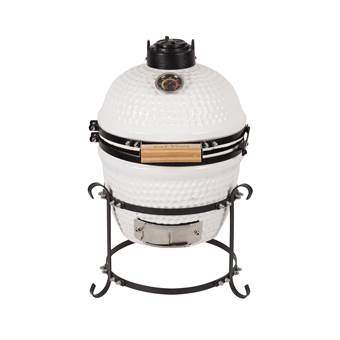 "Patton Kamado Grill 13"" Barbecues Wit Keramiek"