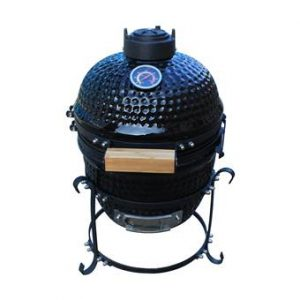 "Patton Kamado Grill 13"" Barbecues Zwart Keramiek"