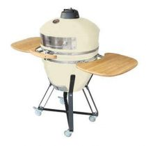 Patton Kamado Grill 21 Meat & Pizza Edition Barbecues Beige Keramiek