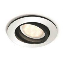 Philips Hue Milliskin Inbouwspot - excl. Dimmer Switch Verlichting Zilver Aluminium