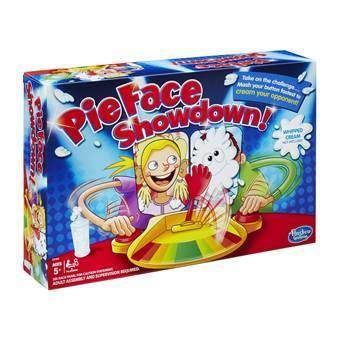 Pie Face Showdown  Bordspellen Multicolor Karton