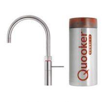 Quooker COMBI+ Fusion Round RVS Kokendwaterkraan Keukenapparatuur Zilver RVS
