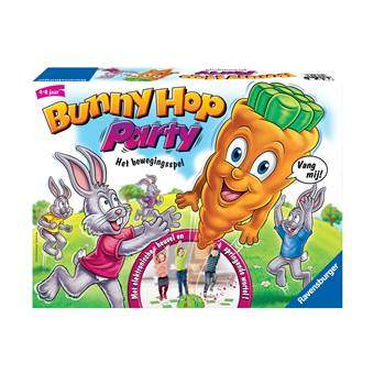 Ravensburger Bunny Hop Party Bordspellen Multicolor Kunststof