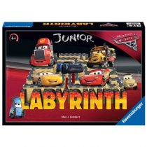Ravensburger Disney Cars 3 Junior Doolhof Spellen & vrije tijd Rood Karton