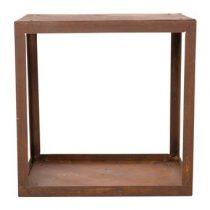 RedFire Wood Storage Box Tuinhuizen & opbergers Bruin Staal