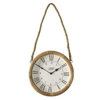 Rivièra Maison Braderup Clock Ø 57 cm Klokken Bruin
