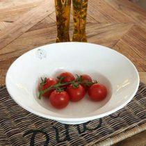 Rivièra Maison Classic Pastabord Ø 32 cm Servies Wit Keramiek