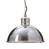 Rivièra Maison Deauville XL Hanglamp Verlichting Zilver Messing