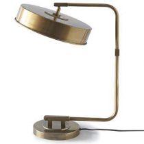 Rivièra Maison Madison Square Studio Tafellamp Verlichting Goud Aluminium