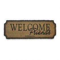 Rivièra Maison Welcome Friends Deurmat Hal accessoires Bruin Kunststof