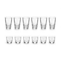 Royal Leerdam In2One Longdrinkglazen + Tumblers 12-delig Glasservies Transparant Glas