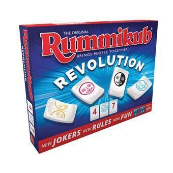 Rummikub Revolution Bordspellen Multicolor Karton