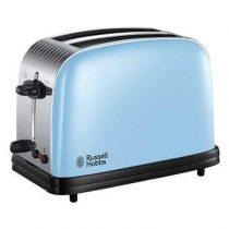 Russell Hobbs Colours Plus Heavenly Blue Broodrooster  Keukenapparatuur Blauw Kunststof