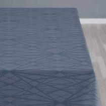 Södahl Diamond Grid Tafelkleed 140 x 270 cm Tafelpresentatie Blauw Katoen