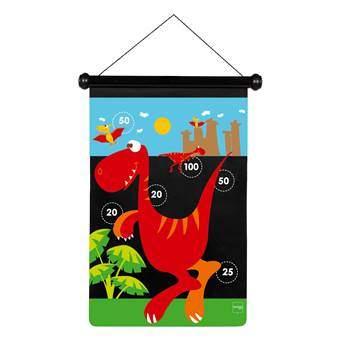 Scratch Dinosaurus Magnetisch Dartspel Buitenspeelgoed Multicolor Kunststof