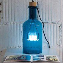 Seletti Bouche Tafellamp Verlichting Blauw Glas