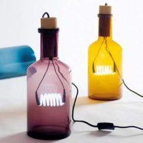 Seletti Bouche Tafellamp Verlichting Geel Glas