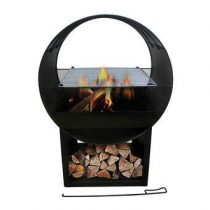 SenS-Line Aylin BBQ Terrashaard Barbecues Zwart Metaal