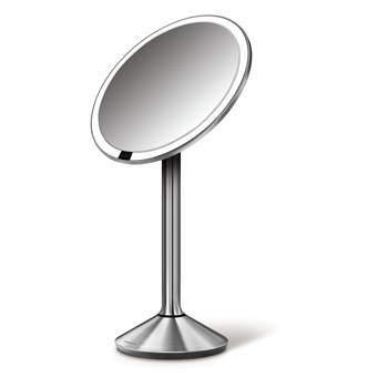 Simplehuman Sensor Cosmeticaspiegel Badkameraccessoires Zilver Glas