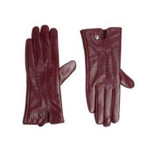 Smaak Amsterdam Sheep Skin Leather Handschoenen Fashion accessoires Rood Leder