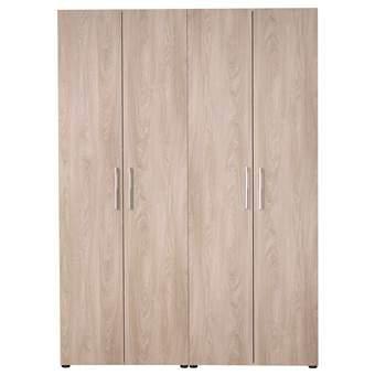 StoreMax Smartbox Kledingkast H 220 x B 160 cm Kasten Bruin Hout