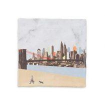 StoryTiles New York Wandtegel 10 x 10 cm Wanddecoratie & -planken Multicolor Aardewerk