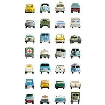 Studio Ditte Auto Behang Wanddecoratie & -planken Multicolor Papier