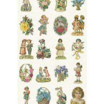 Studio Ditte Poezieplaatjes Behang Wanddecoratie & -planken Multicolor Papier