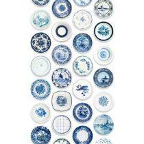 Studio Ditte Porselein Behang Wanddecoratie & -planken Blauw