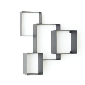 Studio Frederik Roijé Cloud Cabinet Wanddecoratie & -planken Grijs Metaal