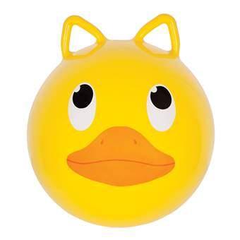 Sunnylife Duck Skippybal Buitenspeelgoed Geel Kunststof