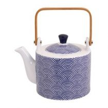 Tokyo Design Studio Nippon Blue Theepot 0,8 L  Thee & accessoires Blauw