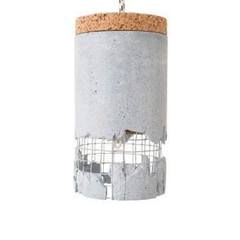 """Ubikubi """"/"""" Slash Hanglamp Verlichting Blauw Beton"""