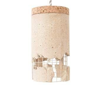 "Ubikubi ""/"" Slash Hanglamp Verlichting Roze Beton"
