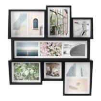 Umbra Edge Multi Fotolijst 54 x 59 cm - Zwart Fotolijst Zwart MDF