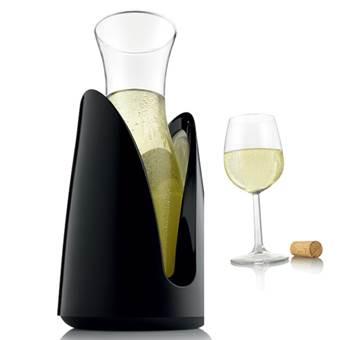 VacuVin Karaf Rapid Ice Wijn assortiment Transparant Glas