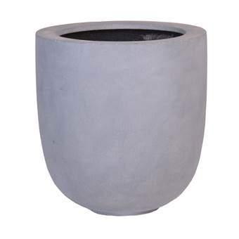 Vase the World Ducos Bloempotten Grijs Fiberstone