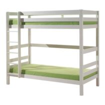 Vipack Pino Stapelbed Met Rolbed 90 x 200 cm Wit Kindermeubels Wit Hout