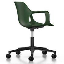 Vitra Hal Armchair Studio Bureaustoel Bureaus & bureaustoelen Groen