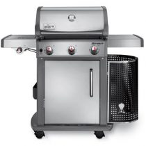 Weber Spirit S-320 Premium GBS System Edition Barbecues Zilver RVS
