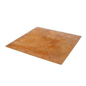 Weltevree Outdooroven Floor plate Terrasverwarming Bruin Staal