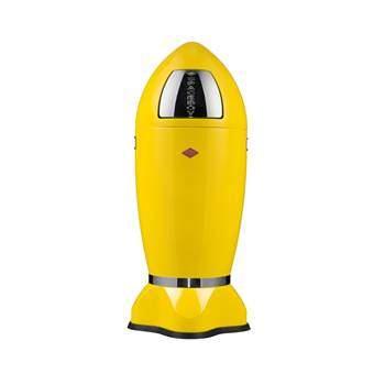 Wesco Spaceboy XL Afvalemmer 35 L Afvalemmers Geel Metaal