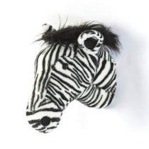 Wild&Soft Zebra Dierenkop  Baby & kinderkamer Wit