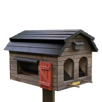 Wildlife Garden Foderlada Vogelhuisjes & dierenverblijven Bruin Hout