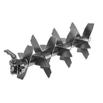 Wolf-Garten Verticuteer messen voor VS302E/303E Gazononderhoud Zwart Staal
