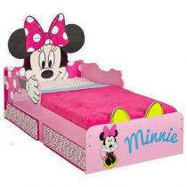 Worlds Apart Disney Minnie Mouse Kinderbed met Lades Baby & kinderkamer Roze MDF