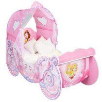 Worlds Apart Disney Prinses Koets Kinderbed met Licht Baby & kinderkamer Roze MDF
