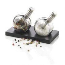 XD Design Planet Peper- en zoutmolenset Peper & zoutmolens Transparant