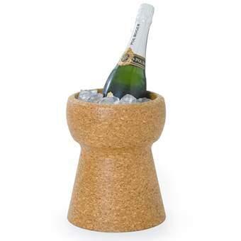 XL Cork Champagnekoeler Wijn assortiment Bruin Kurk