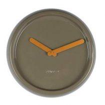 Zuiver Ceramic Time Wandklok Ø 35 cm Klokken Groen Keramiek
